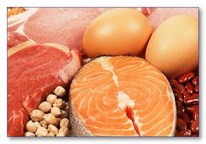 Мясо, рыба и яйца