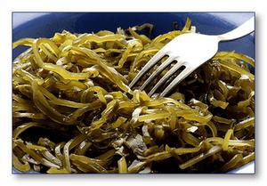 Бурые водоросли  –  лучший источник йода при похудении