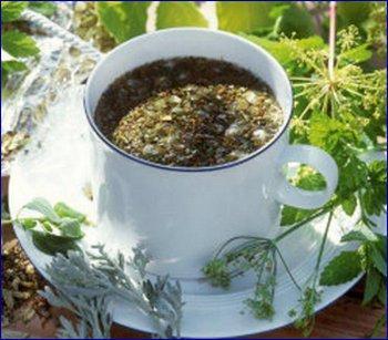 Очищающий чай № 17 Печеночный