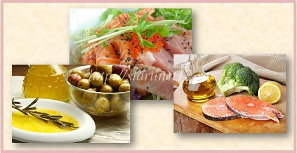 Растительные жиры и морская рыба