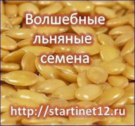 Льняные семена для похудения. Рецепты  для стройной фигуры