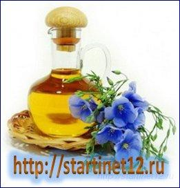 Ложка льняного масла  ежедневно –  это здоровые сосуды и никакого холестерина
