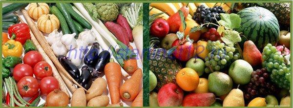 Полезные углеводы: овощи и фрукты