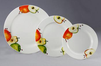 Тарелки разных размеров