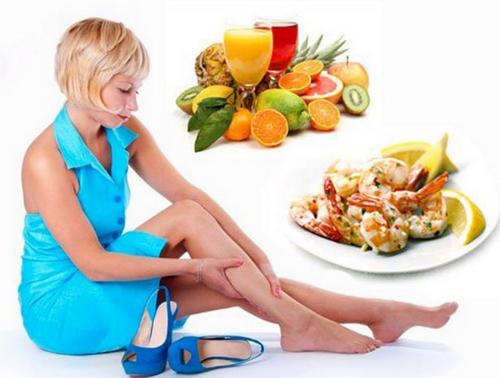 Продукты питания при варикозе