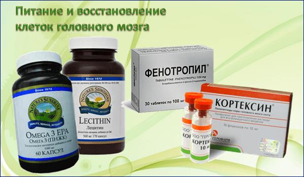 БАДы и ноотропные препараты для питания и восстановления ЦНС