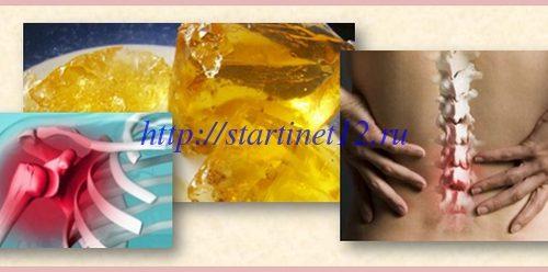 Польза желатина для суставов