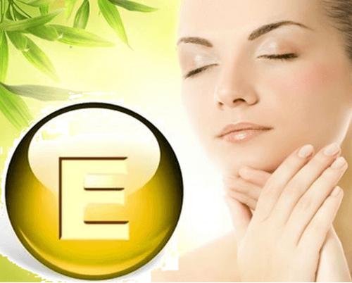 Витамин Е для лица