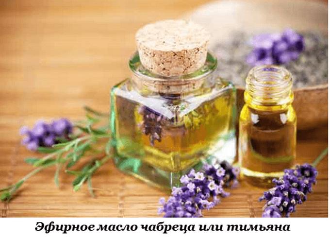 Целебное масло чабреца