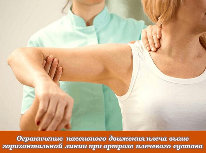 Ограничение подвижности сустава