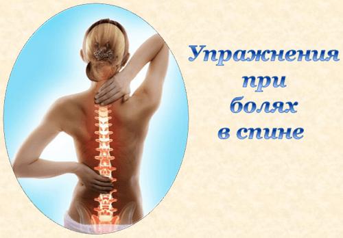 Упражнения при радикулите пояснично крестцового отдела позвоночника